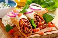 Meksykańskie burrito z kurc...