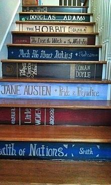 Fajny pomysł na schody ^.^