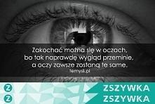 tylko oczy a jak jest u was