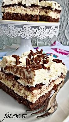 Ciasto budyniowo-czkoloadow...