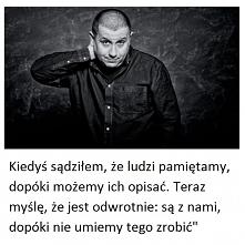 Marcin Wicha, Rzeczy, który...