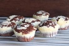 Muffinki kakaowo-serowe