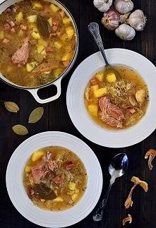 Kwaśnica - góralska zupa na wędzonych żeberkach - najlepszy przepis tradycyjny