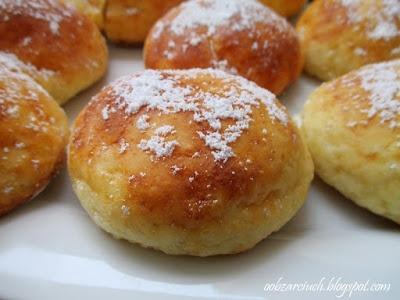 Pączki serowe z piekarnika