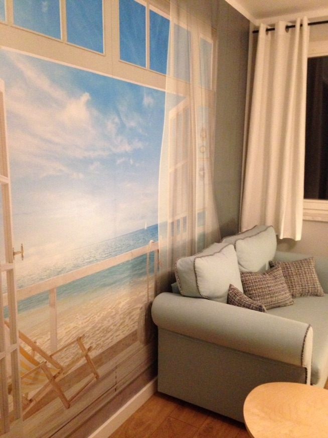 fototapeta 3D ... prywatna plaża :)