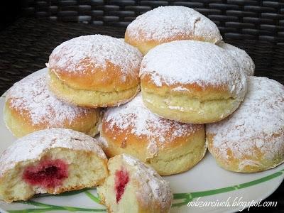 Pączki pieczone w piekarniku
