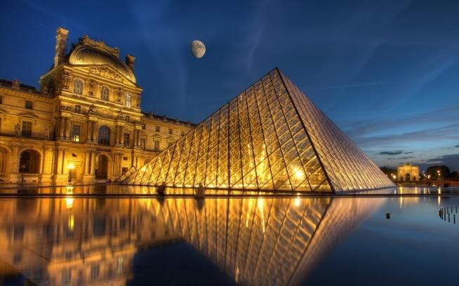 Luwr, Paryż :)