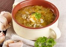 Zupa ogórkowa z kiszonym i ...