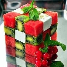 owocowa kostka :)
