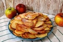 Smacznie i zdrowo: Placuszki z jabłkami
