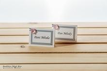winietki weselne - rękodzieło