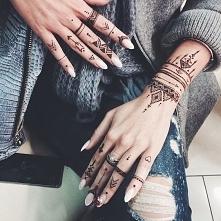 *.* Co myślicie o takich tatuażach henną ??