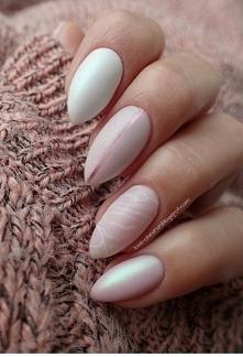Rose quartz nails [więcej p...