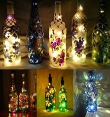 20 najfajniejszych pomysłów na dekoracje przy użyciu zwykłych butelek