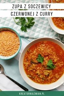 Prosta, wegańska zupa z soczewicy