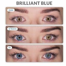 Teraz to możliwe, zmiana z brązowego koloru oczu na niebieskie. Idealne, natu...