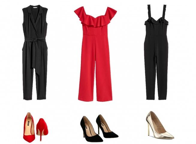 Kombinezony z powodzeniem mogą zastąpić sukienkę na wieczorne wyjście! Mogą być eleganckie i seksowne. Po więcej inspiracji zapraszam na bloga Minimalistic Girl.