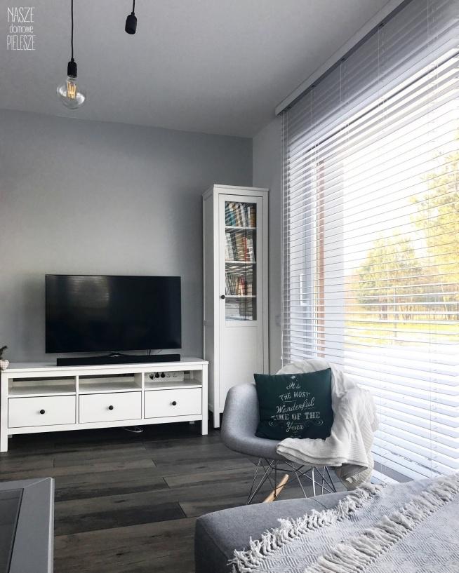 Nasze białe żaluzje drewniane dekorują dom Natalii i Marka - zobacz więcej na Nasze Domowe Pielesze