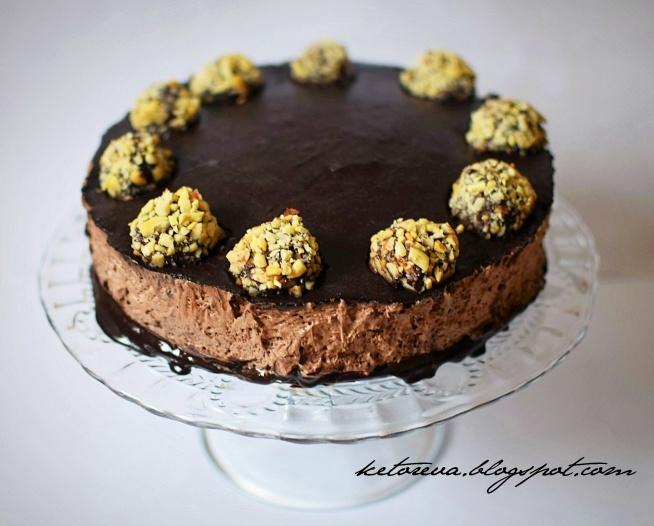Tort Ferrero Rocher w wersji low carb