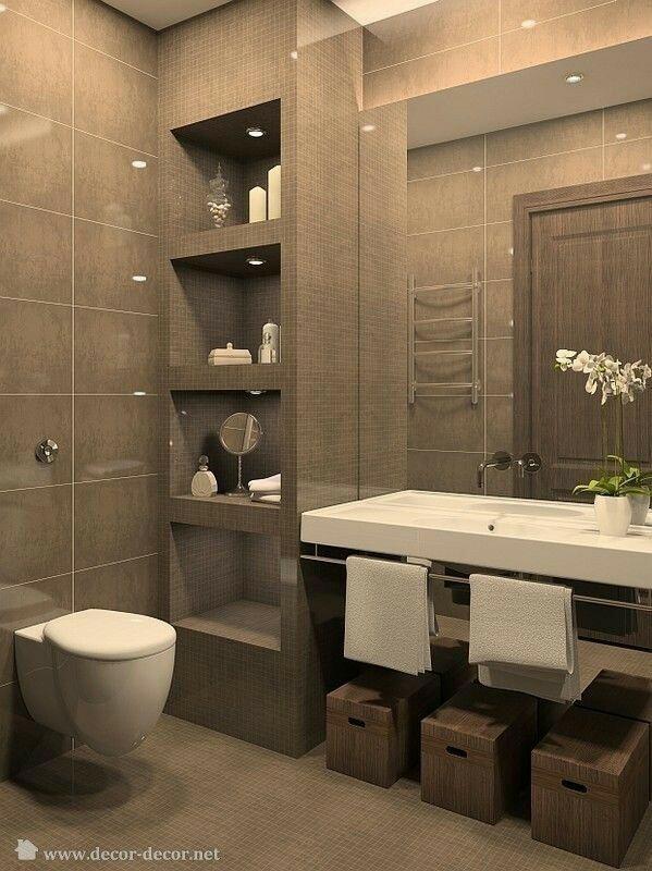 Takie kolory w łazience , jak najbardziej, biele, brązy, szarości połączone z przygaszonym różem Pieknie.