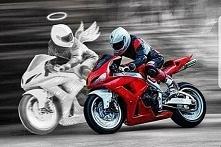 Nie jeździj szybciej niż Twój Anioł Stróż potrafi latać