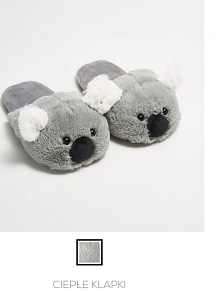 Miś koala słodkie kapcie