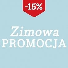 Zimowa Promocja: wszystko -15%, zapraszamy! xx   Promocja trwa od 25.01. do 2...