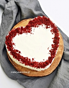 Red Velvet Cake. Przepis po kliknięciu w zdjęcie.