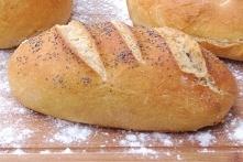 Chleb z mąki Szymanowska-chlebowa typ 750