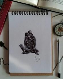 Na podstawie obrazu Beksińskiego.  (FB/zuzarysowana, ig: @suzanne.musial)