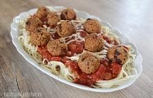 Spaghetti z pulpetami z kas...