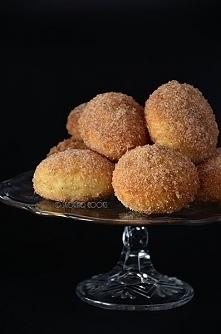 Pieczone pączki piernikowe / Gingerbread doughnuts