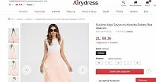 Witajcie. Zna któraś sklep internetowy Airydress? Chciałam kupić z ich strony sukienkę ale nie mam pewności czy dojdzie i jak będzie wyglądać. Sukienka szła by z Wielkiej Brytan...