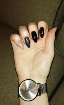 karnawałowy manicure ;)