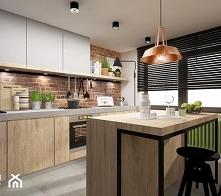 kuchnia, sciana, półka
