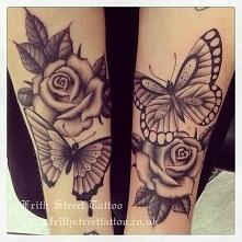 róża tattoo