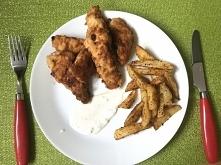 Kurczaczki a'la KFC! Prosty przepis po kliknięciu w zdjęcie.