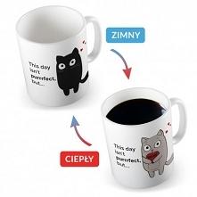 Kubek Kot Termoaktywny <3 Doskonały Prezent na WALENTYNKI <3 Kliknij w ...