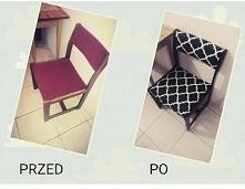 Przed&po  Krzesła