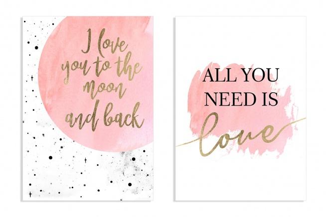 Walentynkowe Kartki I Plakaty Do Pobrania Za Darmo Na Pomysły