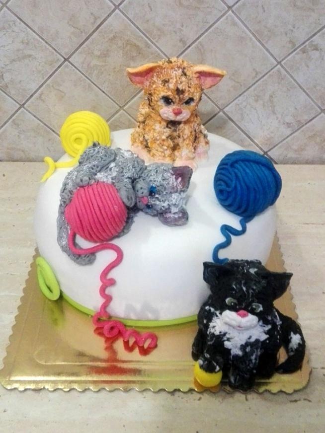 Tort Urodzinowy Koty Na Torty Zszywkapl