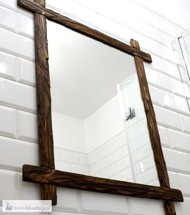 Jak zrobić drewnianą ramę lustra? Zapraszam.