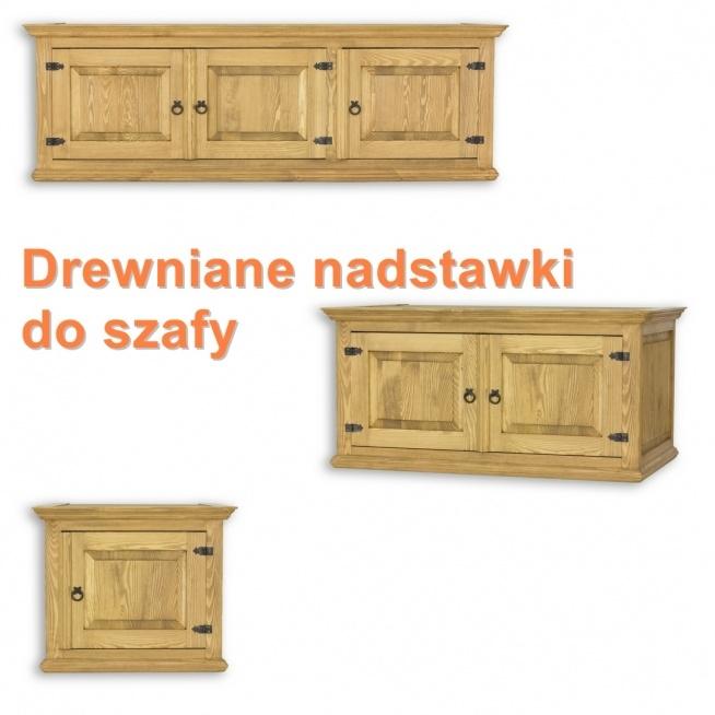 drewniane nadstawki do szaf