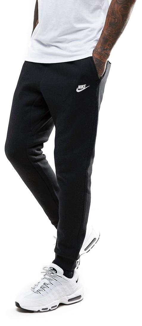 Spodnie Męskie NIKE SPORTSWEAR JOGGER CLUB FLEECE black