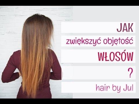 Jak dodać objętości cienkim włosom - Hair by Jul