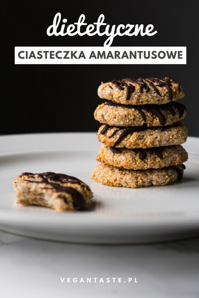 Te ciasteczką SĄ DOZWOLONE NA DIECIE! Sprawdź przepis na ciasteczka amarantusowe - szybkie, proste, bez glutenu, bez cukru, bez tłuszczu.