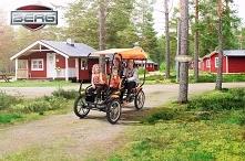 BERG GRAN TOUR - gokart czteroosobowy  Jeśli marzysz o rodzinnej rekreacyjnej podróży gokartem – to czteroosobowy Gran Tour Racer jest idealnym pojazdem!  Dzięki felgom z odlewu...