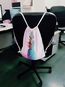 Worek/plecak ananas modny o każdej porze roku! :)