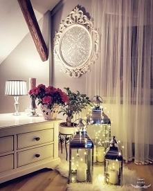 Dekoracje lampiony lampki i...