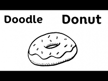 Easy Doodle - Donut - Step by Step Draw